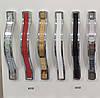 Ручка меблева Ozkardesler 5232-06/013 ODESSA 128мм Хром-Білий, фото 2