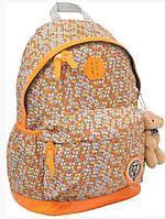 Рюкзак подростковый YES  Х166 Oxford оранжевый, 47*31*18.5см 552573