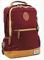 Рюкзак подростковый YES  Х253 Oxford, бордовый, 30*15*45см 552888