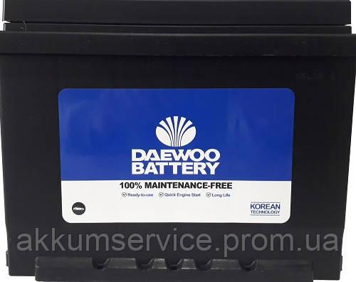 Акумулятор автомобільний DAEWOO 62Ah 550A R+ 56220 SMF