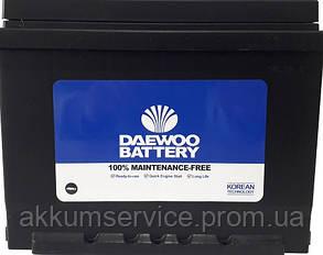 Аккумулятор автомобильный DAEWOO 62Ah 550A R+ 56220 SMF