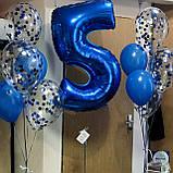 Фонтан гелієвих куль на День народження Індиго, фото 2