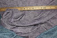 Ткань Ангора софт гусиная лапка, цвет сирень, пог. м., №1328, фото 1