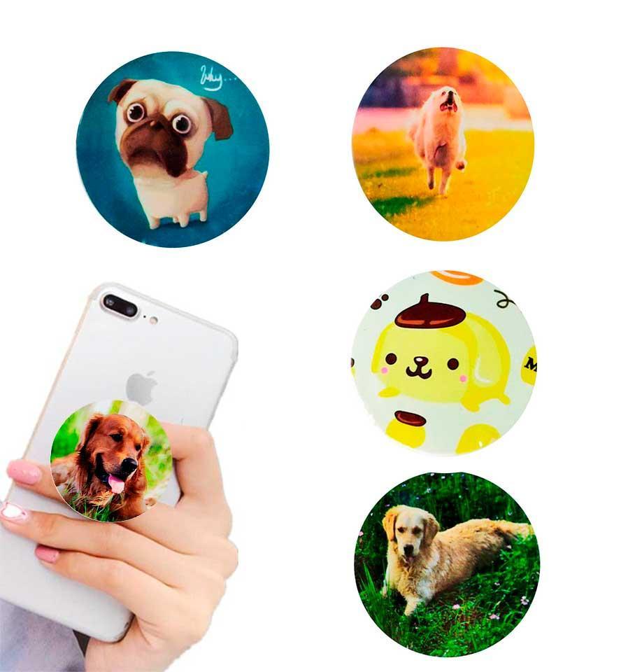 Попсокет держатель для телефона PopSocket Собака (разные варианты)