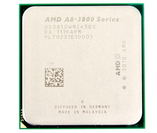 Процессор AMD A8 3850 AD3850WNZ43GX сокет фм1 2900мгц