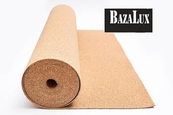Пробковая подложка рулонная Bazalux