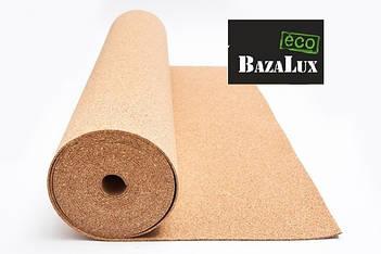Пробковая подложка рулонная Bazalux ECO