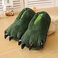 ✅ Тапочки Кигуруми Лапы Зеленые L (размер 38-43), фото 3
