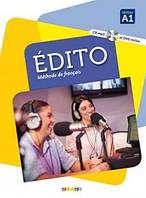 Edito A1 Livre eleve + DVD-Rom