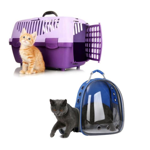 Сумки та перенесення для кішок