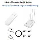 3G/4G LTE Station RunBit UniBox - Интернет комплект - антенна, роутер, модем, фото 3