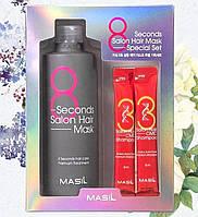Набір для волосся Masil 8 Second Salon Hair маска 350 мл і шампунь 2*8 мл