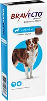 Бравекто таблетка от блох и клещей для собак весом от 40 до 56 кг, 1400 мг