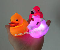 Сенсорные водоплавающие уточки,фламинго,единорожки (цена за 1 шт), фото 1