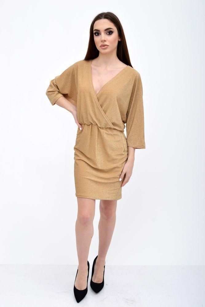 Платье женское 115R359 цвет Песочный
