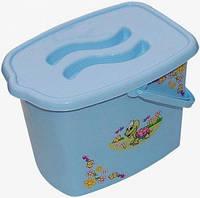 Ведро для подгузников Tega Baby Черепашка Синий