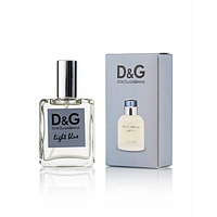 Мужской мини-парфюм Dolce & gabbana light blue pour homme, 35 мл