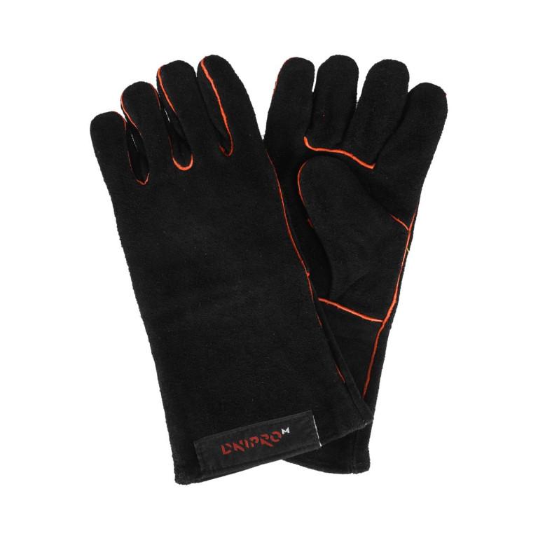 Перчатки сварщика Dnipro-M Чёрные
