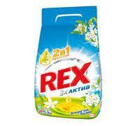 Стиральный порошок Rex автомат 2в1 Зеленый чай и Жасмин 9кг