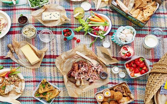 одноразовая посуда для пикника фото