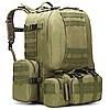 Рюкзак тактический с подсумками B08 55 л, фото 5