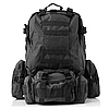 Рюкзак тактический с подсумками B08 55 л, фото 7