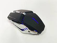 Мышь аккумуляторная беспроводная бесшумная для геймеров с подсветкой ACETECH CH002