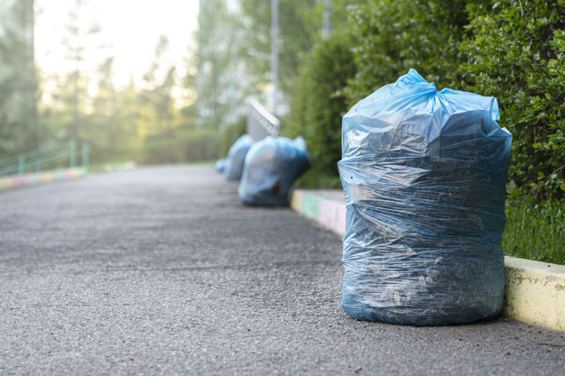 мусорные пакеты для уборки фото