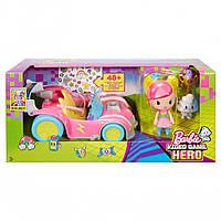 "Mattel Barbie набор ""Кукла Барби + автомобиль""  DTW189993"