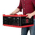 ✅ Ящик складной, пластиковый, загрузка 30 кг, 47 л., 600*400*260 мм, материал 100% первичный пищевой ПЭ, фото 8