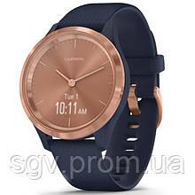 Фитнес часы Garmin vivomove 3S Sport Blue-Gold