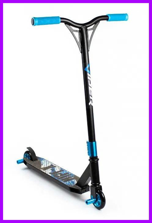 Трюковый самокат Viper Hipe-X с пегами синий
