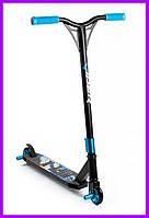 Трюковый самокат Viper Hipe-X с пегами синий, фото 1