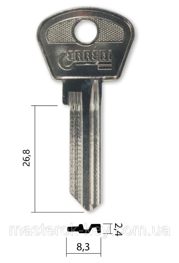 Заготовка ключа TAL-3