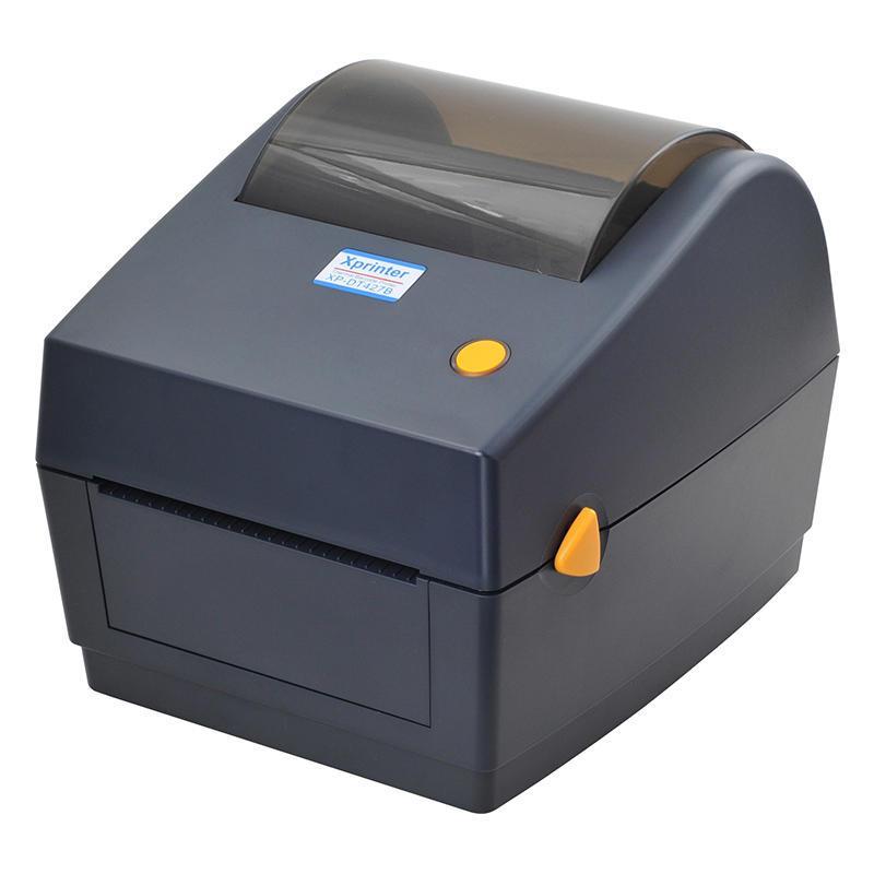 Принтер этикеток, термопринтер штрих кодов, QR кодов Xprinter XP-480B USB 110mm