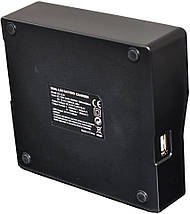Зарядное устройство для аккумуляторов Panasonic DMW-BLF19/DMW-BLF19E, фото 2