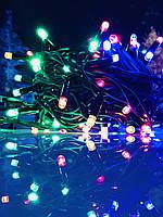 Гирлянда уличная LUMION нить 100LED 10m 230V мульти цвет, мерцают 10LED IP44 EN, фото 1