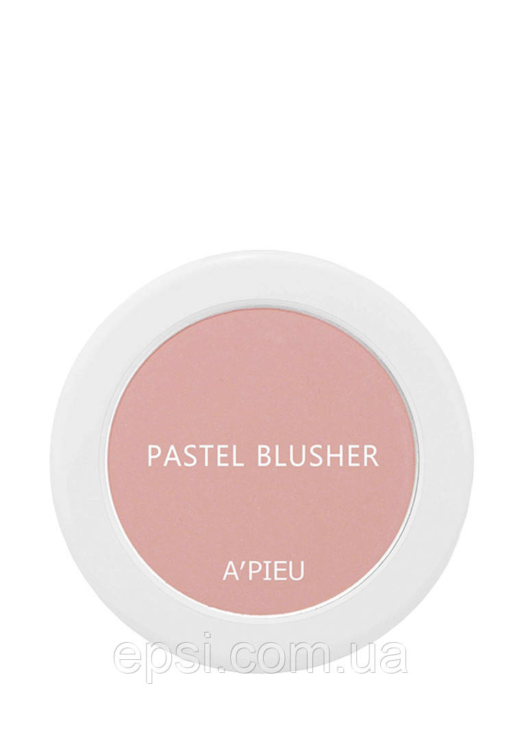 Компактные румяна Apieu Pastel Blusher PK03, 4.5 г