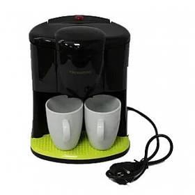 Кофеварка Crownberg CB-1560 компактная и удобная кофе машина 600Вт TT40025