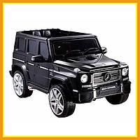 Детский ездовой автомобиль с пультом управления Mercedes-Benz G65 AMG Black 4*4 (Черный)