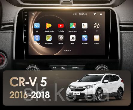 Junsun 4G Android магнитола  Honda CRV CR-V 5 RT RW 2016 - 2018