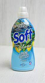 Soft Концентрированный кондиционер Лимоны из Сорренто и морской бриз 750 мл.