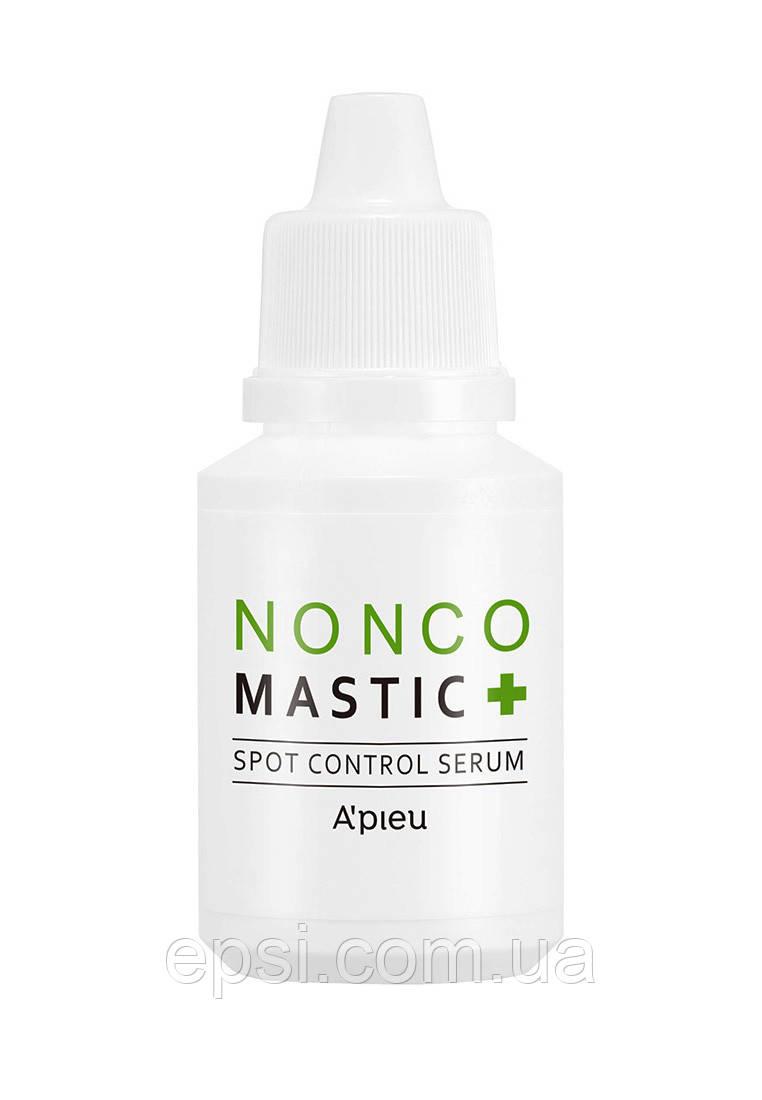 Точечная сыворотка для лица от воспалений Apieu Nonco Mastic Spot Control Serum, 30 мл