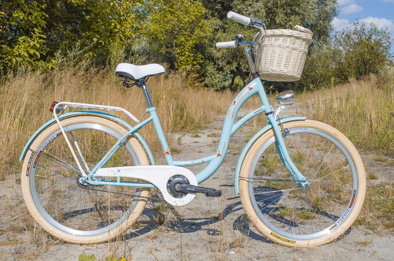 Велосипед VANESSA Vintage 26 turcus Польша