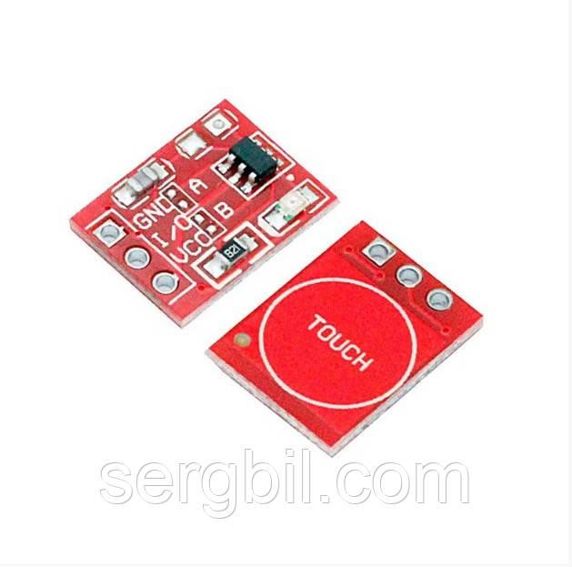 Сенсорна кнопка-вимикач TTP223 модуль