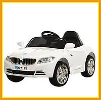 Детский электромобиль ездовой S2188 BMW городской Белый