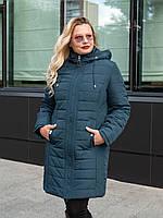Весна женские Куртки большого размера  50-60 волна
