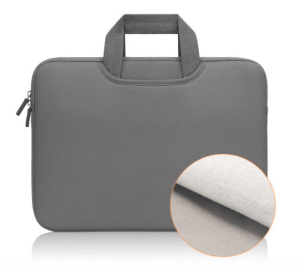 Неопреновая сумка-чехол для Макбук Macbook Air/Pro 13,3'' 2008-2020 - серый