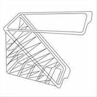 Упаковка блистерная для сендвичей треугольная 11х11х6,5 см. 100 шт/уп. пластиковая, прозрачная (Garcia de Pou)