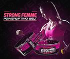 Пояс для пауэрлифтинга Power System PS-3850 Strong Femme Black/Pink S, фото 4